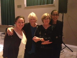 Geralyn McLaughlin, Deborah Meier, Nancy Carlsson-Paige and Lani Guinier